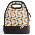 Luminiere Polka-dot Lunch Bag