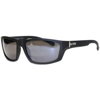 Piranha Men's 'Peak' Matte Black Sport Sunglasses