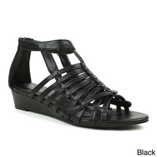 Mark & Maddux 'Jimmy-05' Gladiator Low-heel Wedge Sandals
