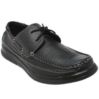 Men's Comfort Black Oxford Loafers