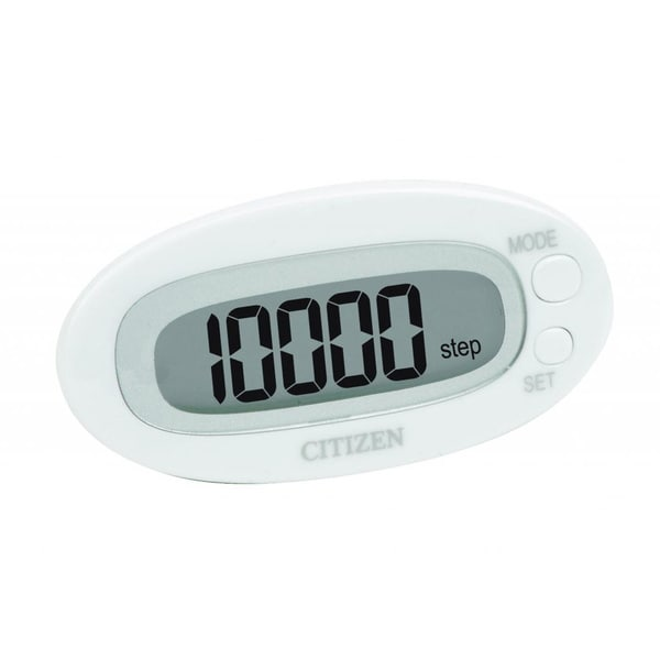 Citizen White Pedometer