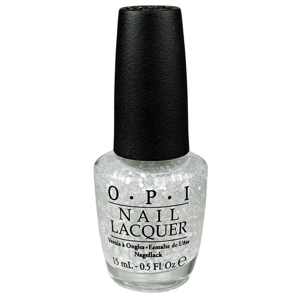 OPI Pirouette My Whistle Silver Glitter Nail Lacquer