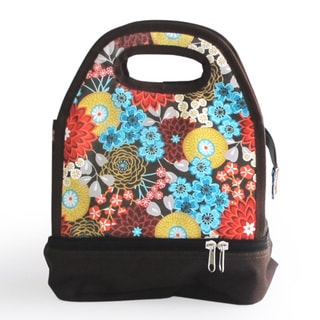 Luminiere Flower Lunch Bag