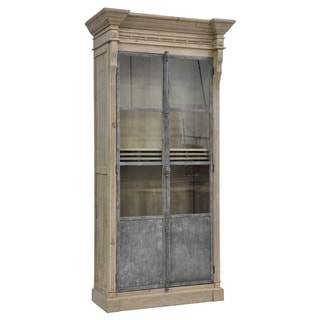 Sheldin Antique Pine 2-Door Cabinet