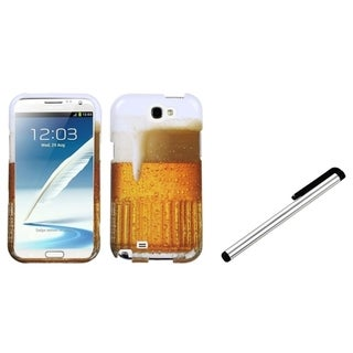 BasAcc Stylus/ Beer Food Fight Case for Samsung Galaxy II T889/ N7100