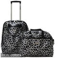 Olympia Beverly 2-piece Fashion Rolling Tote Set