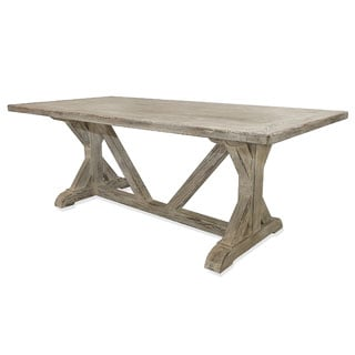 La Phillippe Reclaimed wood Rectangular Dining Table