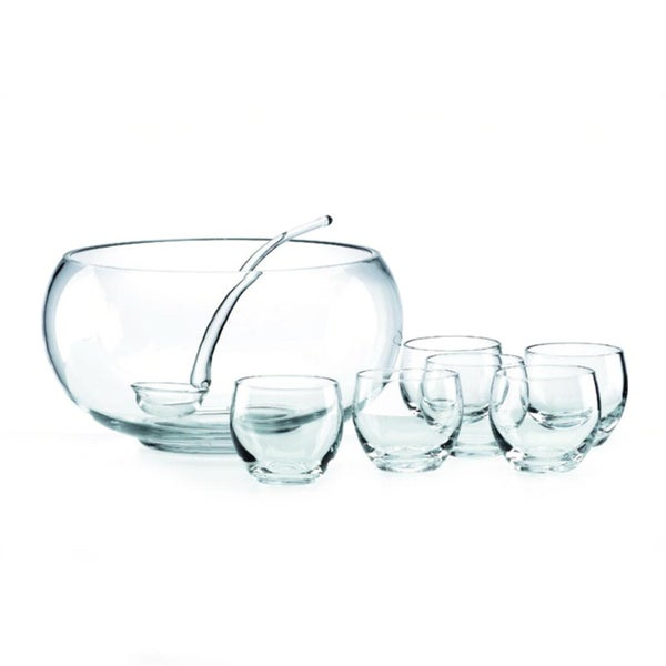 Tuscany Classics 8-Piece Punch Bowl Set