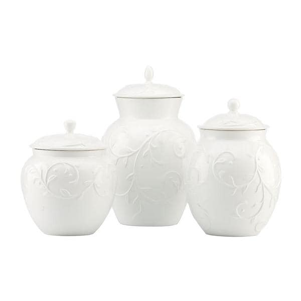 Opal Innocence Carved Canisters (Set of 3)