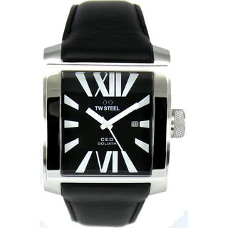TW Steel Men's 'CEO' Black Dial Watch