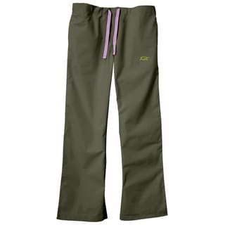IguanaMed Women's City Slate Classic Bootcut Scrub Pants
