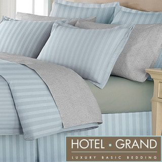 Hotel Grand Oversized 500 Thread Count 4-piece Duvet Set with Bedskirt
