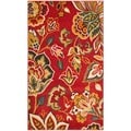 Safavieh Newbury Red/ Ivory Rug (3' x 5')
