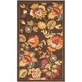 Safavieh Newbury Brown/ Green Rug (3' x 5')
