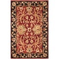 Safavieh Hand-made Persian Legend Rust/ Black Wool Rug (2' x 3')