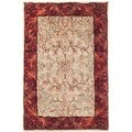 Safavieh Handmade Persian Legend Ivory/ Rust Wool Accent Rug (2' x 3')