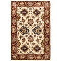 Safavieh Hand-made Persian Legend Ivory/ Rust Wool Rug (3' x 5')