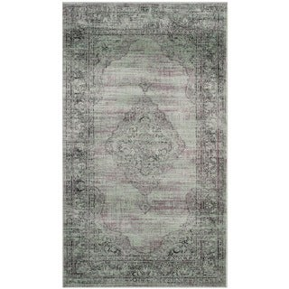 Safavieh Vintage Light Blue Viscose Rug (2'7 x 4')