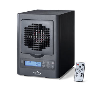 6-Stage UV Ionic HEPA Ozone Air Purifier with Remote
