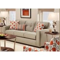 Dolly 'Dude' Grey Fabric Sofa