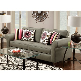 Charmane Sofa Omega Grey Fabric