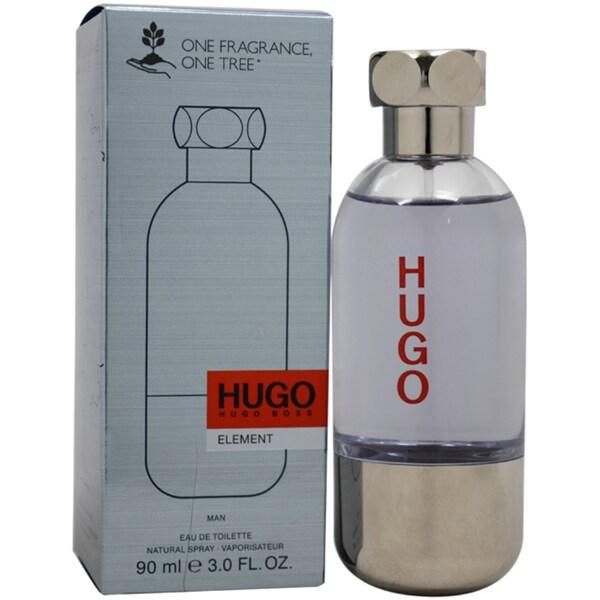 Hugo Boss Hugo Element One Fragrance One Tree Men's 3-ounce Eau de Toilette Spray