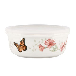 Lenox Butterfly Meadow Serve and Store Container