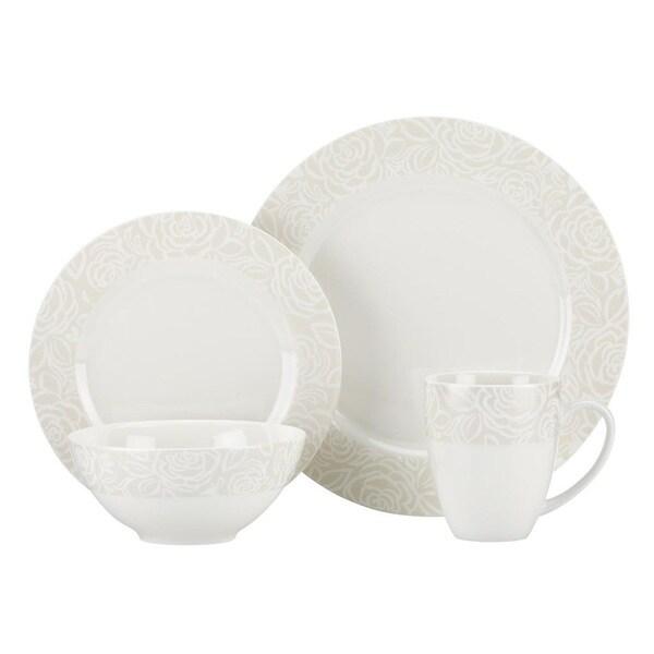 Gorham Bowden 40-Piece Dinnerware Set