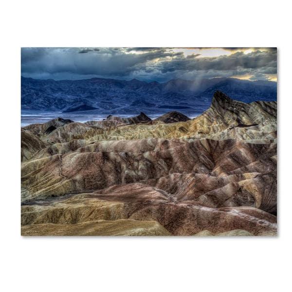 Pierre Leclerc 'Death Valley' Canvas Art