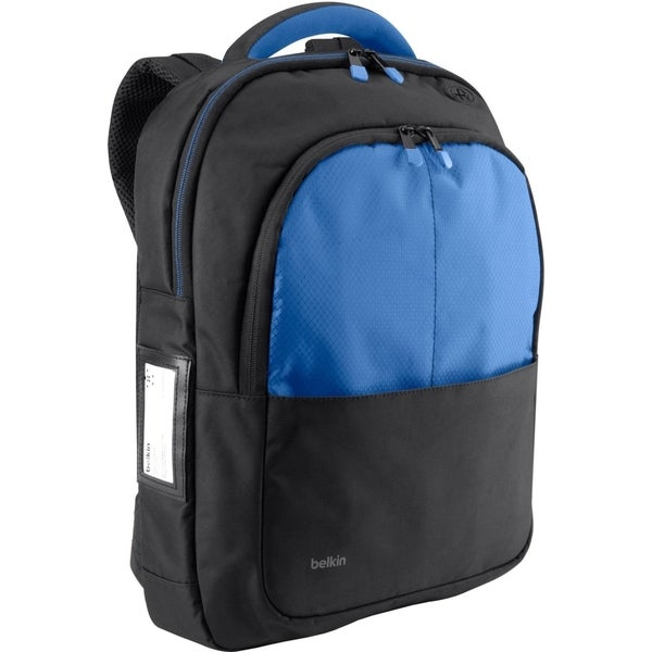 "Belkin Carrying Case (Backpack) for 13"" Notebook - Black, Blue"
