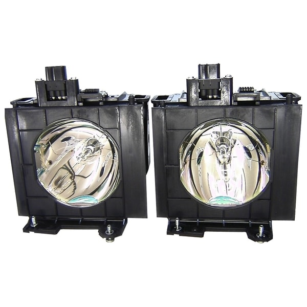V7 Repl Lamp for PANASONIC ETLAD57W 2000HRS 300W 2PK FOR PT-D5700 PT-