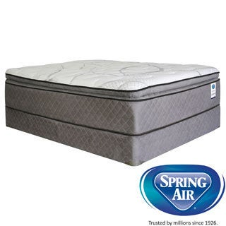 Spring Air Premium Parksdale Pillowtop King-Size Mattress Set