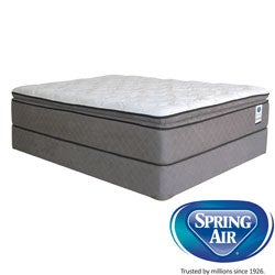 Spring Air Premium Hayworth Pillowtop Twin-Size Mattress Set