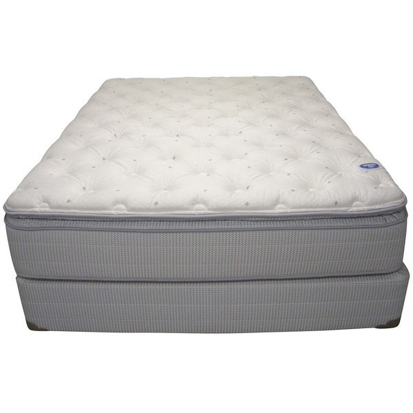 Spring Air Value Addison Pillow Top King-size Mattress Set