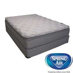 Spring Air Value Addison Plush California King-size Mattress Set