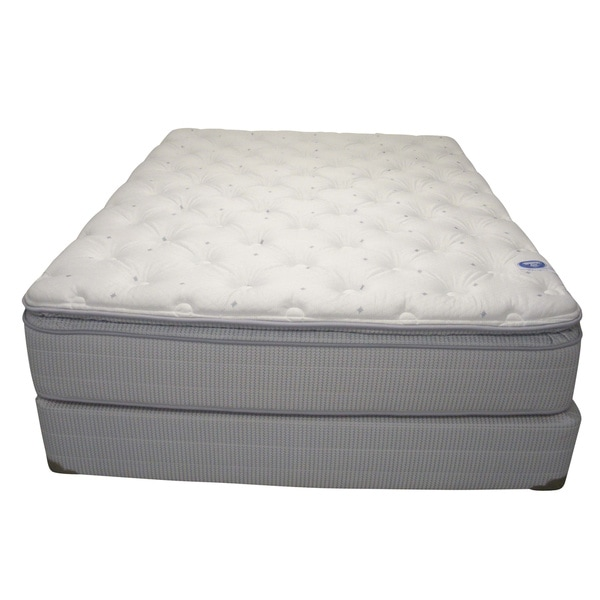 Spring Air Value Addison Plush Twin-size Mattress Set