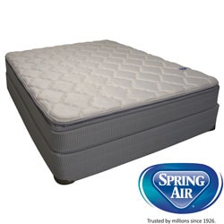 Spring Air Value Abbott Pillowtop Queen-size Mattress Set