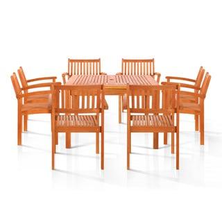 Pasadena 9-piece Outdoor Dining Set