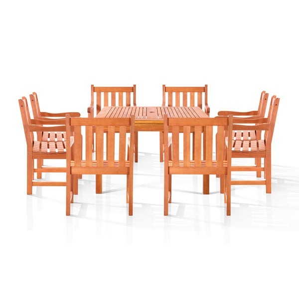 Benji 9-piece Outdoor Dining Set