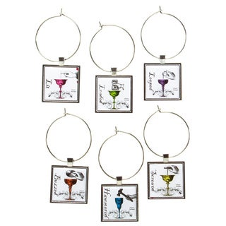 Wine Glass Charms (Set of 6)
