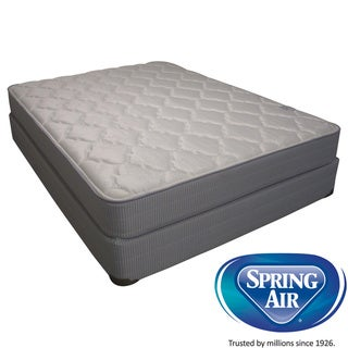 Spring Air Value Abbott Plush Twin-size Mattress Set