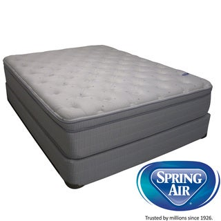 Spring Air Value Addison Eurotop California King-Size Mattress Set