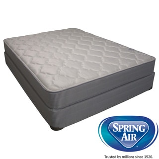 Spring Air Value Abbott Plush Full-size Mattress Set