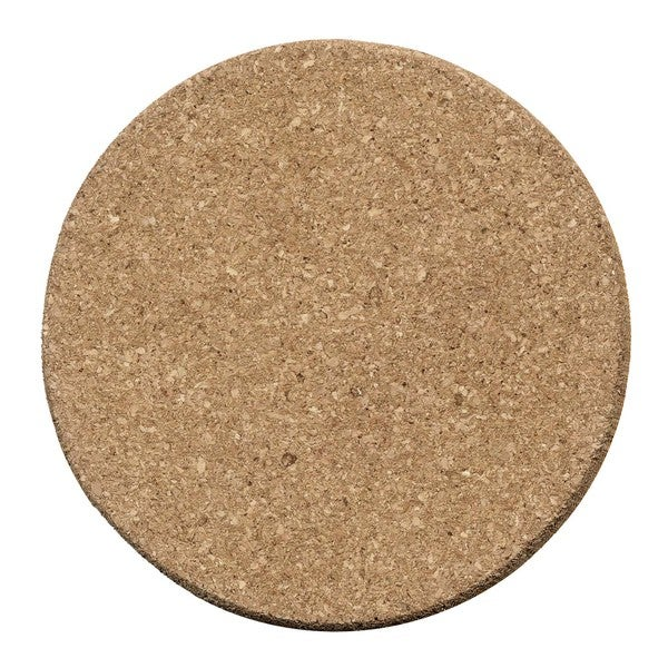 Plain 8-inch Round Cork Trivet