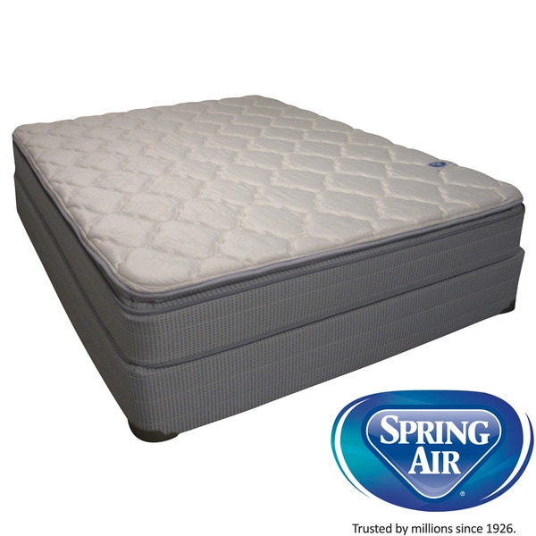 Spring Air Value Abbott Pillowtop Twin size Mattress Set