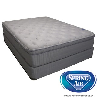 Spring Air Value Addison Euro Top King-size Mattress Set