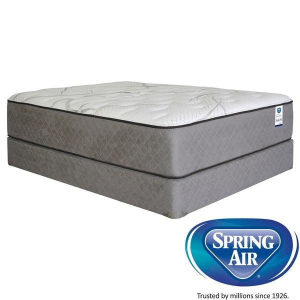 Spring air value addison pillowtop queen size mattress set for Spring air mattress