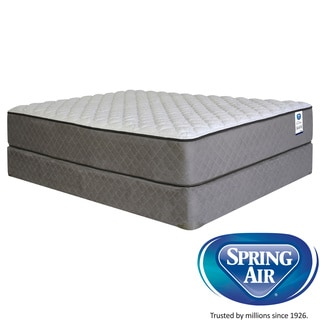 Spring Air Premium Hayworth Firm Queen-size Mattress Set