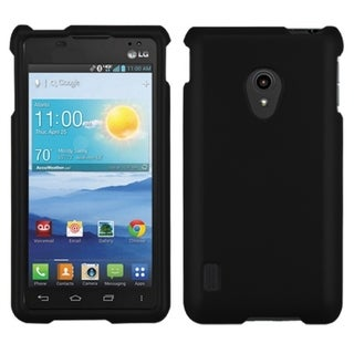 BasAcc Black Rubberized Case for LG VS870 Lucid 2