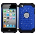 BasAcc Dark Blue/ Black TotalDefense Case for Apple iPod Touch 4